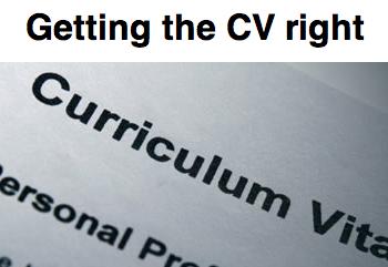 CV Course